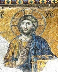 Aya Sofya - Hz İsa mozaiği