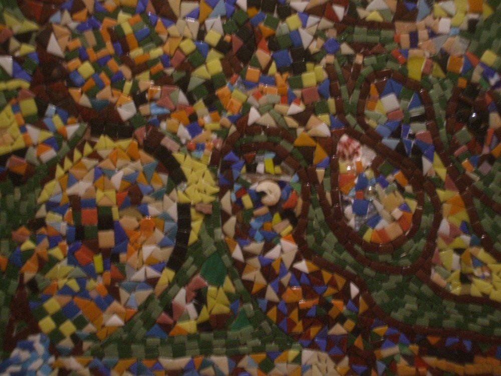 Public mosaic work