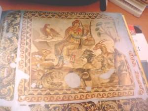 orpheus mosaic - orpheus mozaiği