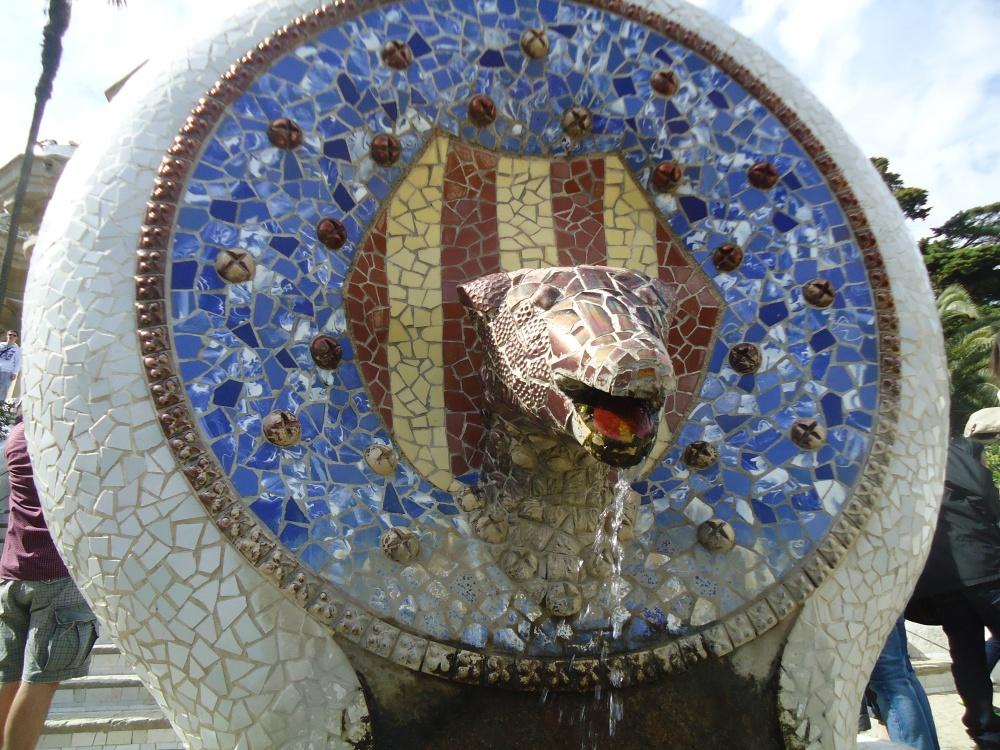 Famous Mosaics of Antoni Gaudi (2/3)