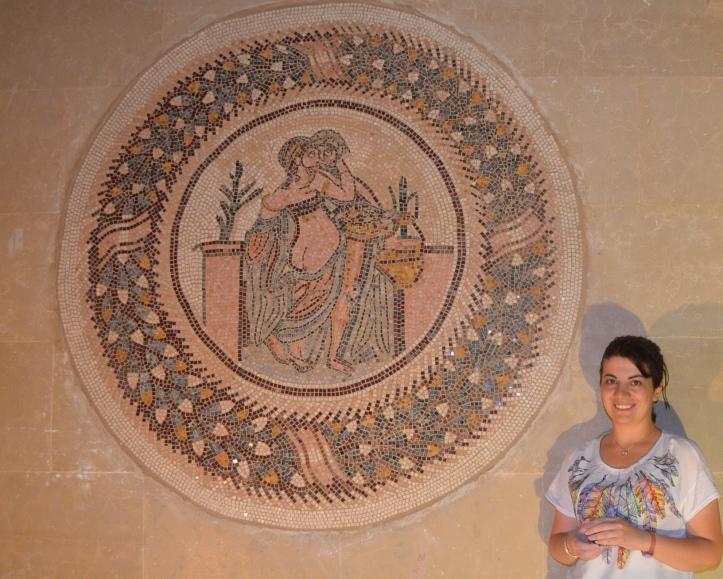 antik roman mozaik