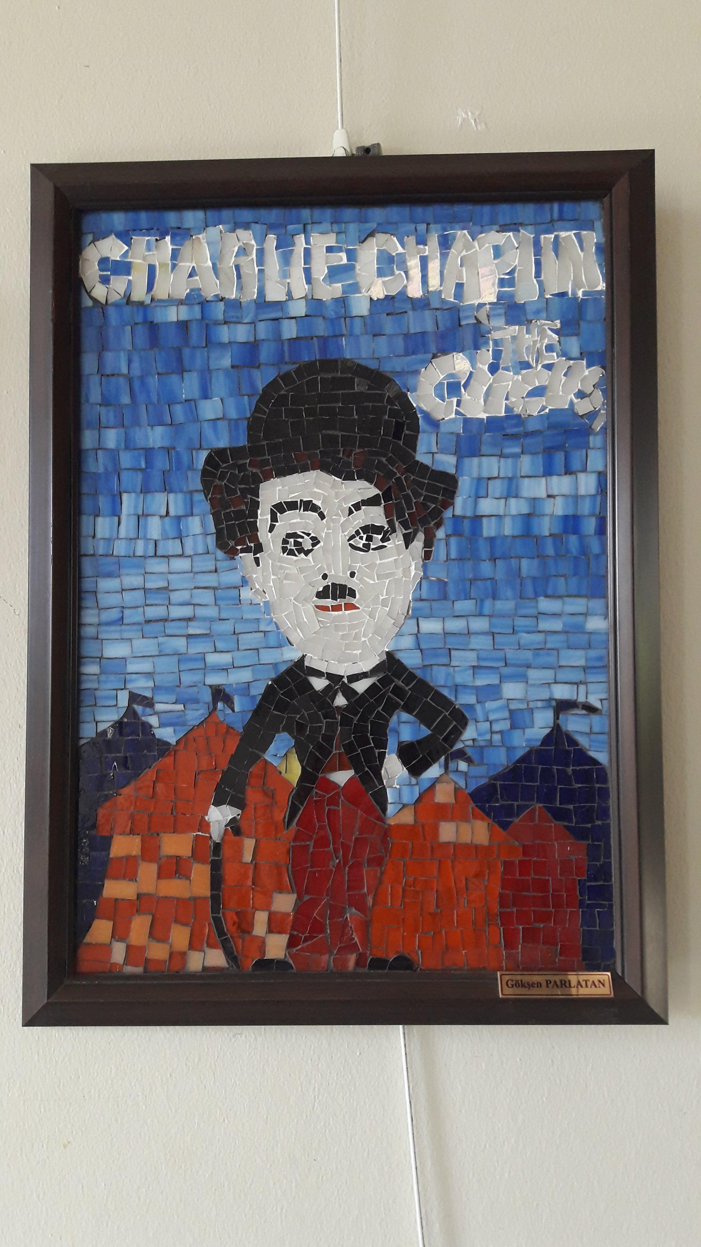 Charlie Chaplin mozaik