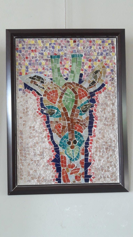 Sihirli Zürafa Mozaik