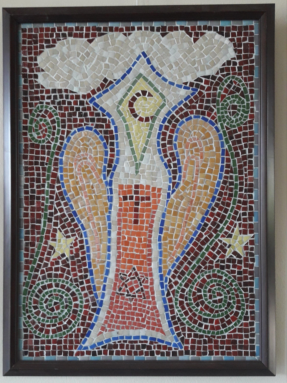 Kutsal Ruh mozaik