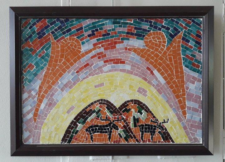 Gun doğuşu mozaik