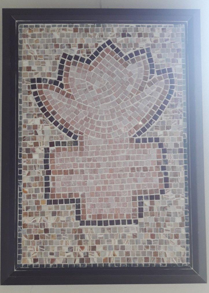 Tevekkül Çiçeği Mozaik